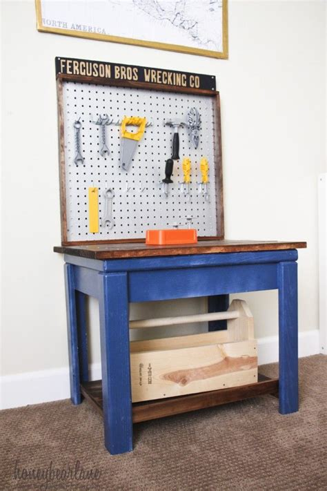 wooden work bench for kids best 25 kids workbench ideas on pinterest kids tool