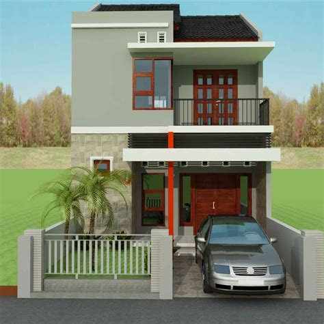 desain pintu depan rumah sederhana contoh gambar desain rumah minimalis type 45 1 dan 2