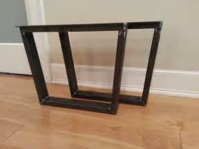 trapezoid 3x1 metal table legs steel table legs
