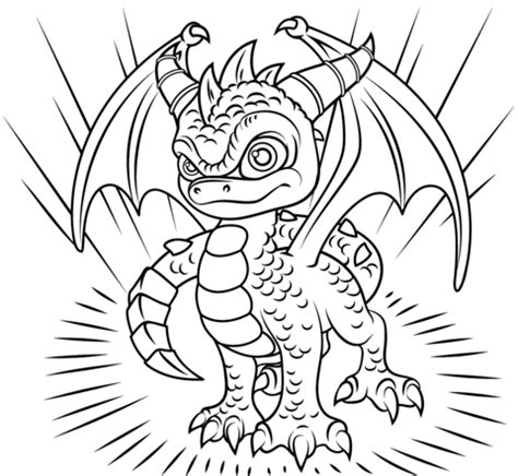Kaos Kopi Adventure skylander coloring pages to print gallery free