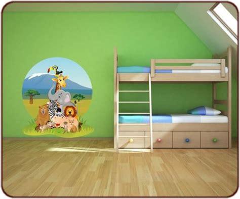 chambre enfant savane des stickers jungle et savane afrique pour votre d 233 co