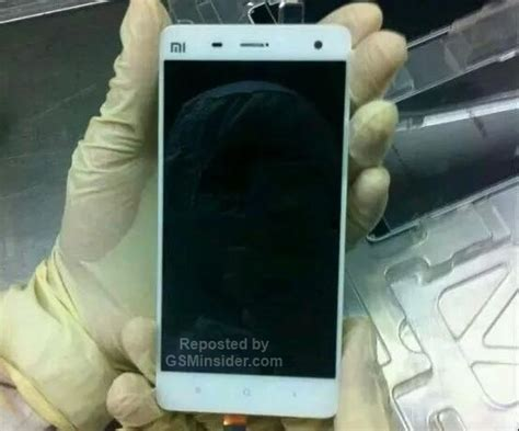 Ultrathin Xiaomi Mi 4 xiaomi mi 4 front panel surfaces shows ultrathin