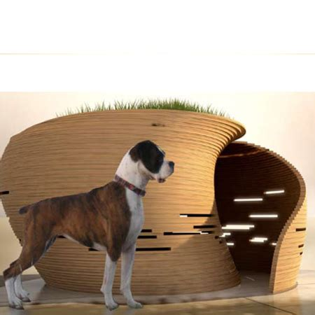 cubix dog house home dzine designer homes for pets