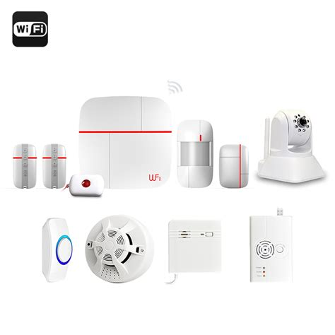 vcare gsm wi fi smart home security system with ip