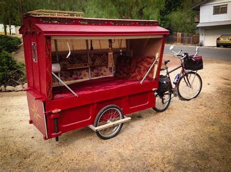 Modern Tiny House Plans bike campers are giving nomads a new way to travel