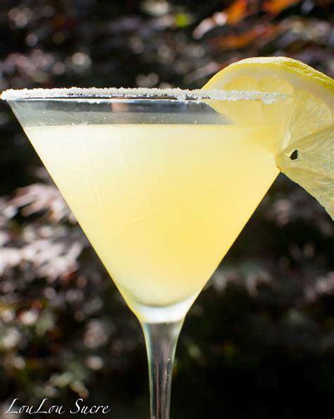 lemon drop martinis loulou sucre