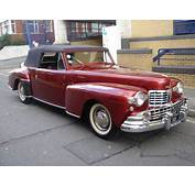 Lincoln Continental 12 Cylinder Convertible For Sale 1947