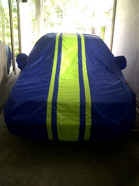 Cover Sarung Mobil Cover Mobil Mitsubishi Pajero wajib beli cover mobil mewah motif warna warni suryaguna