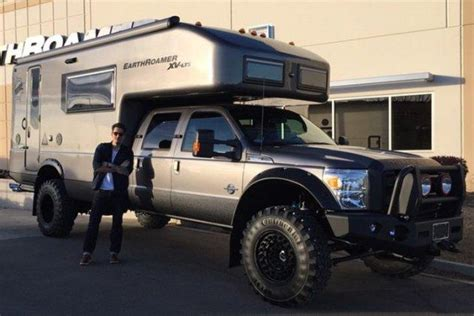 ford earthroamer musician john mayer shows off his beastly earthroamer