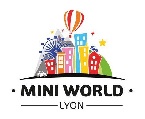 logo mini logo officiel mini world lyon mini world lyon