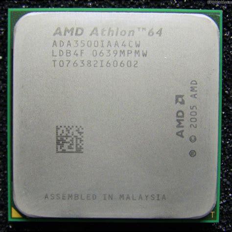 Amd Cpu Sockel by Amd Athlon 64 3500 Cpu Sockel Am2 2 2 Ghz Ada3500iaa4cw Orleans Proz