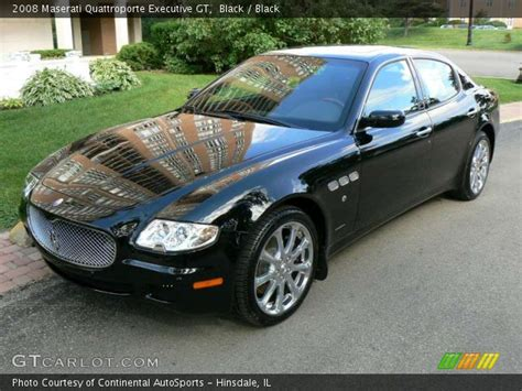 2008 Maserati Quattroporte Executive Gt by Black 2008 Maserati Quattroporte Executive Gt Black