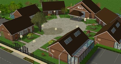 Sims 2 Apartment Zoning Mod The Sims Bayview Retirement