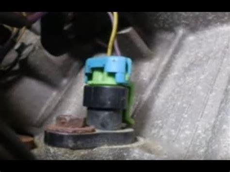 crankshaft position sensor location youtube