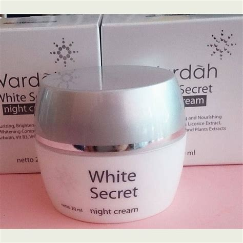 Wardah White Secret Kecil wardah white secret krim pencerah membantu