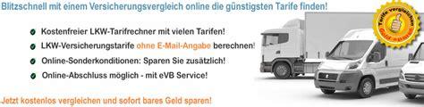 Online Kfz Versicherung Lkw by Lkw Versicherungsrechner Lkw Kfz Versicherung