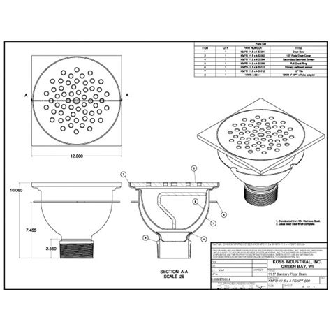 floor drain section floor drain section detail thefloors co