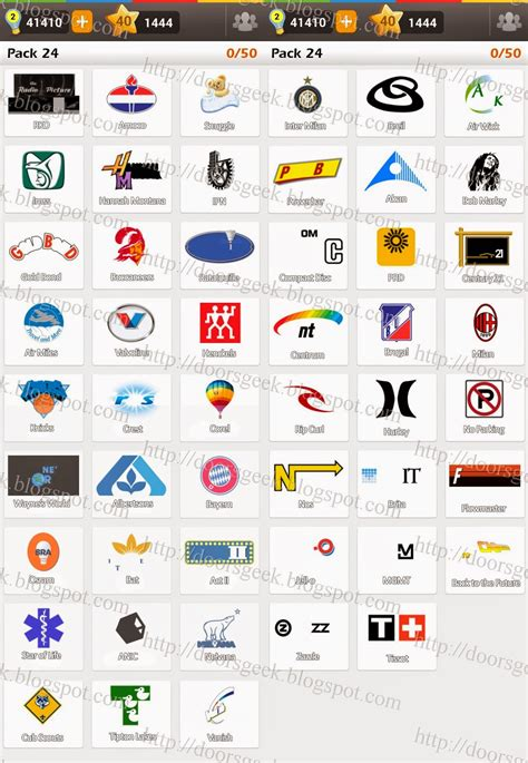 Auto Logos Quiz 2 0 Level 24 by Logo Game Guess The Brand Regular Pack 24 Doors Geek