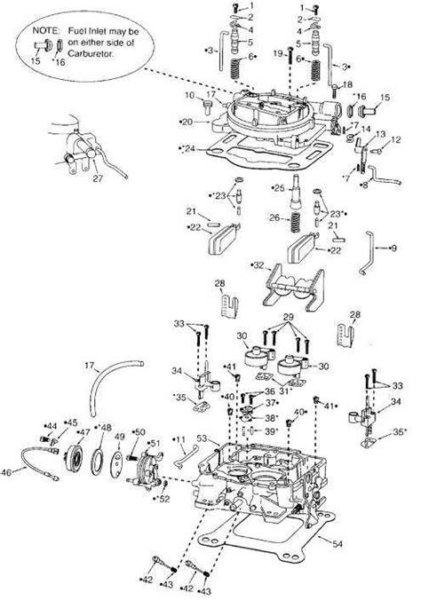 2 barrel carburetor diagram rochester 2 barrel carburetor problems wiring diagrams