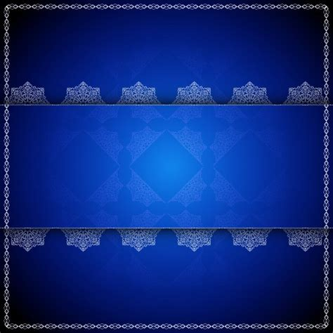 fondo azul de lujo de mandala descargar vectores gratis