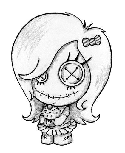cute voodoo doll drawings voodoo doll tattoo on pinterest voodoo tattoo zombie