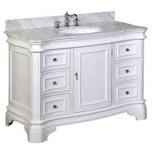 katherine 48 inch vanity carrara white