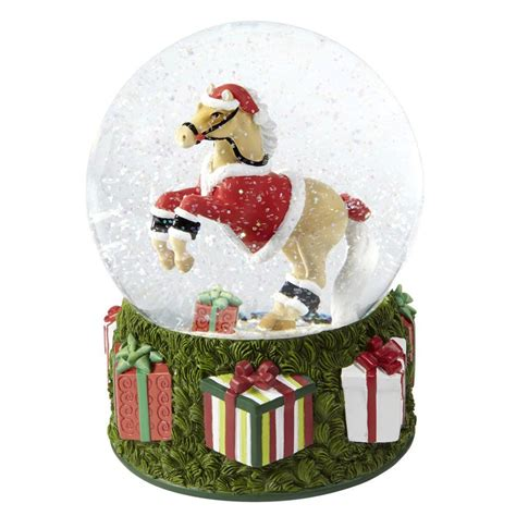 home decor gifts the trail of painted ponies santas pony musical snow