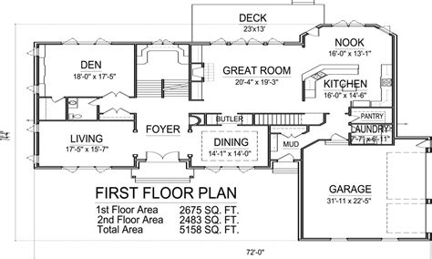 5000 sq ft floor plans house floor plans 5000 sq ft home mansion