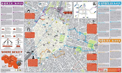 belgium attractions map brussels map attractions brussels attractions map pdf