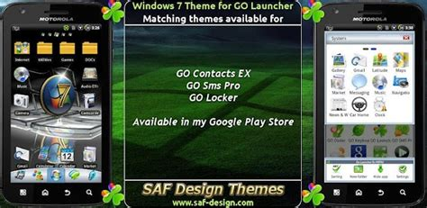 apps themes windows 7 windows 7 go launcher ex free apps android com