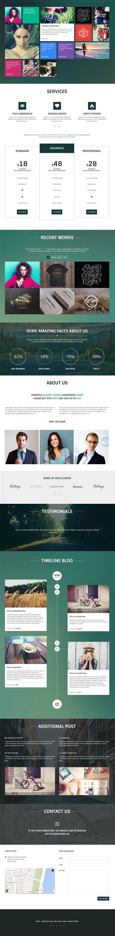 theme wordpress xone html5 wordpress themes wordpress themes graphic design