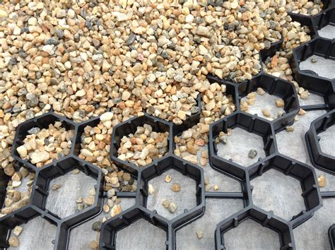 Landscape Fabric Pavers Stabilizing And Firming Gravel Paths Luciole Design