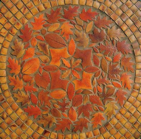 mosaic pattern on leaves 78 best images about mosaic tile leaf patterns on