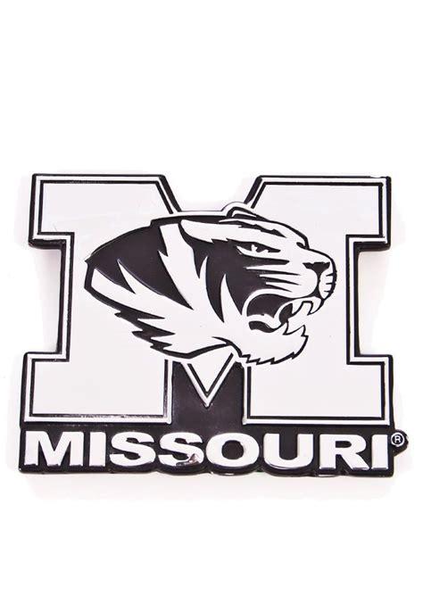 mizzou tiger coloring page missouri tigers chrome car accessory car emblem 1637776
