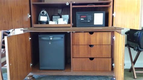 Hotel Mini Bar Cabinet Cabinet With Tv Safe And Mini Bar Picture Of Mokara Hotel And Spa San Antonio Tripadvisor