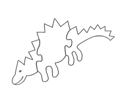 printable dinosaur puzzle free wood puzzles