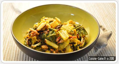 cuisine blette recette bio rapide omelette aux blettes cuisine saine