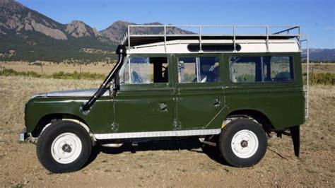 safari land rover for sale land rover series iia defender safari 109 turbo diesel