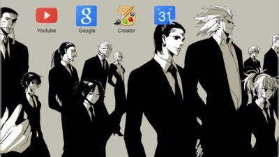 google themes hunter x hunter genei ryodan chrome themes themebeta