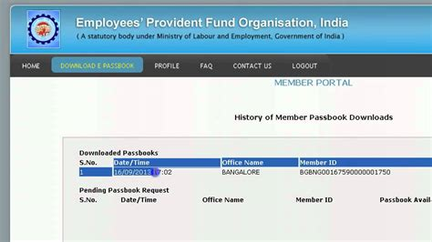 check my provident fund account how to check provident fund pf account balance download