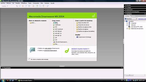 tutorial dreamweaver tutorial de macromedia dreamweaver mx 2004 youtube