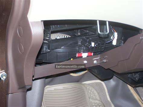Kipas Blower Ac Mobil Timor memasang filter ac suzuki karimun estilo