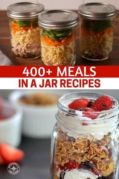 meals in a jar 400 meals in a jar recipes