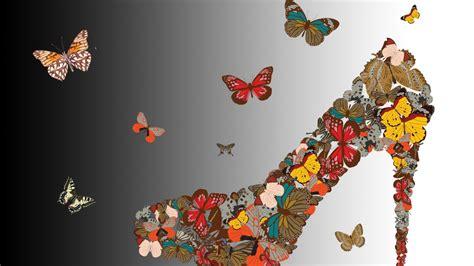 imagenes de zapatos para fondo de pantalla zapato mariposas fondos de pantalla zapato mariposas