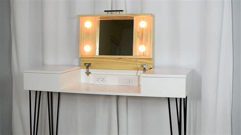diy desk vanity 20 beautiful diy makeup vanity diys to do