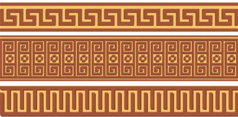 greek pattern svg vector ornamental calligraphy border free vector download