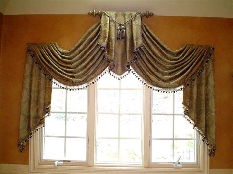 swag curtain ideas window treatments window and swag on pinterest