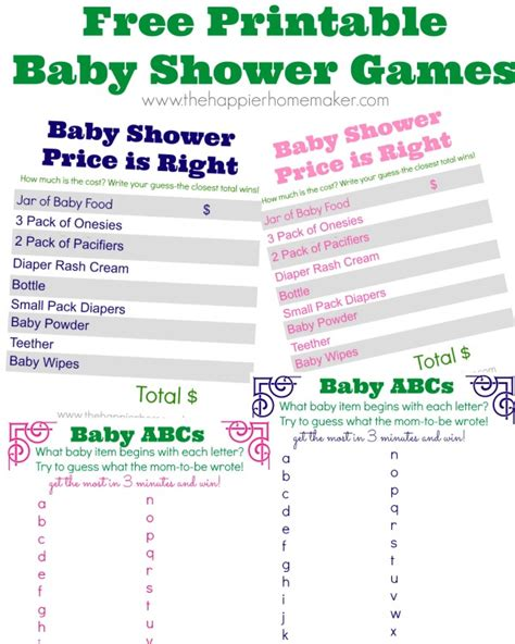 free printable baby shower in baby shower printables and a baby shower