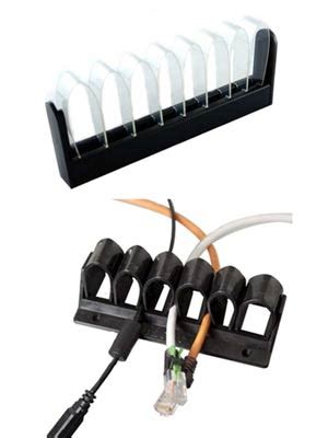 desk cord organizer desk cable management route cables and keep them