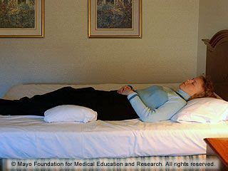 Pillow Knees While Sleeping - slide show sleeping that reduce back